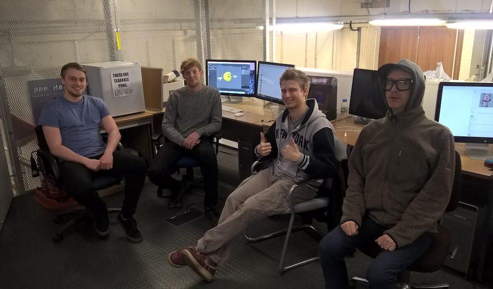 Uni and Me Team: Stuart, Phil, Fred, Dave, George