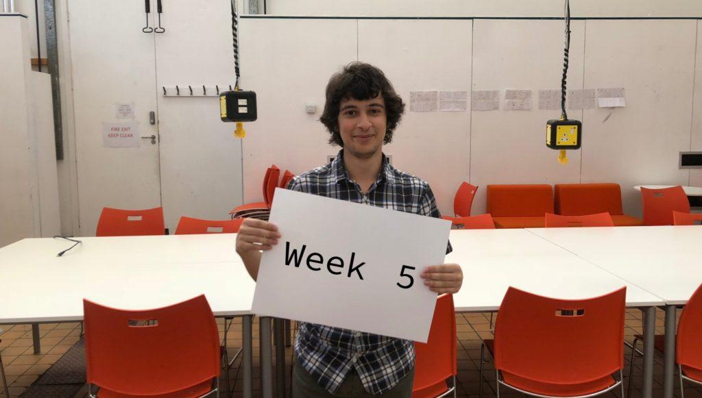 Fifth Week at DigitalLabs
