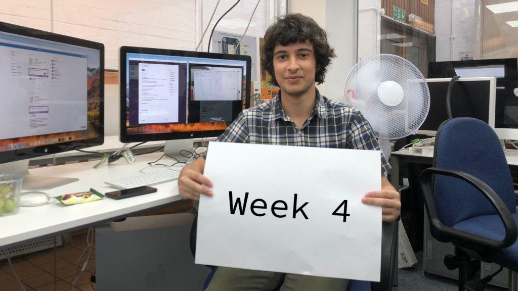 Fourth Week at DigitalLabs