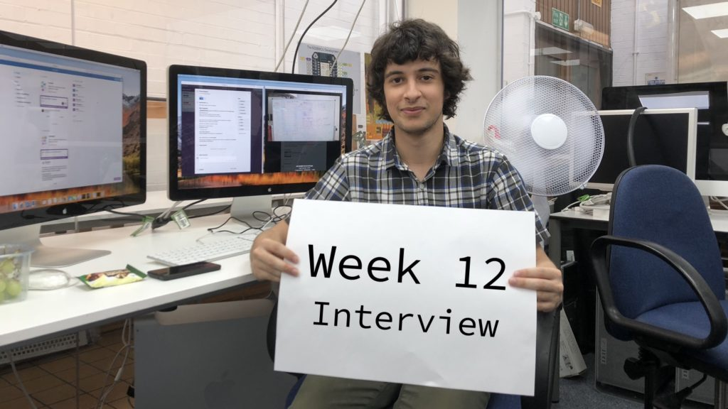 Week 12 Interview