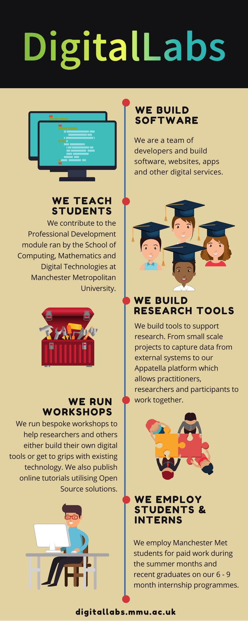 DigitalLabs Infographic